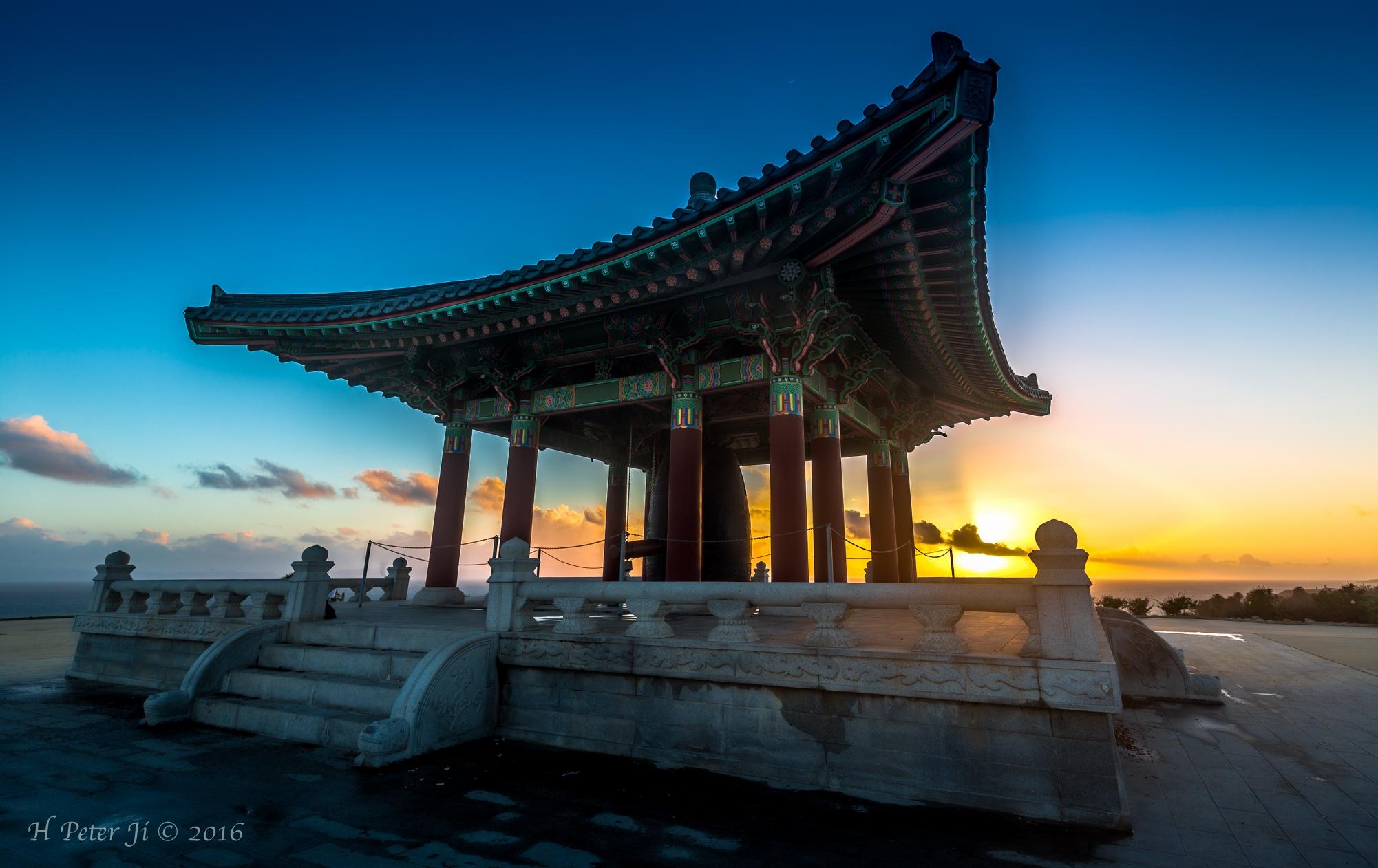 Sunset at Korean Bell of Friendship.jpg