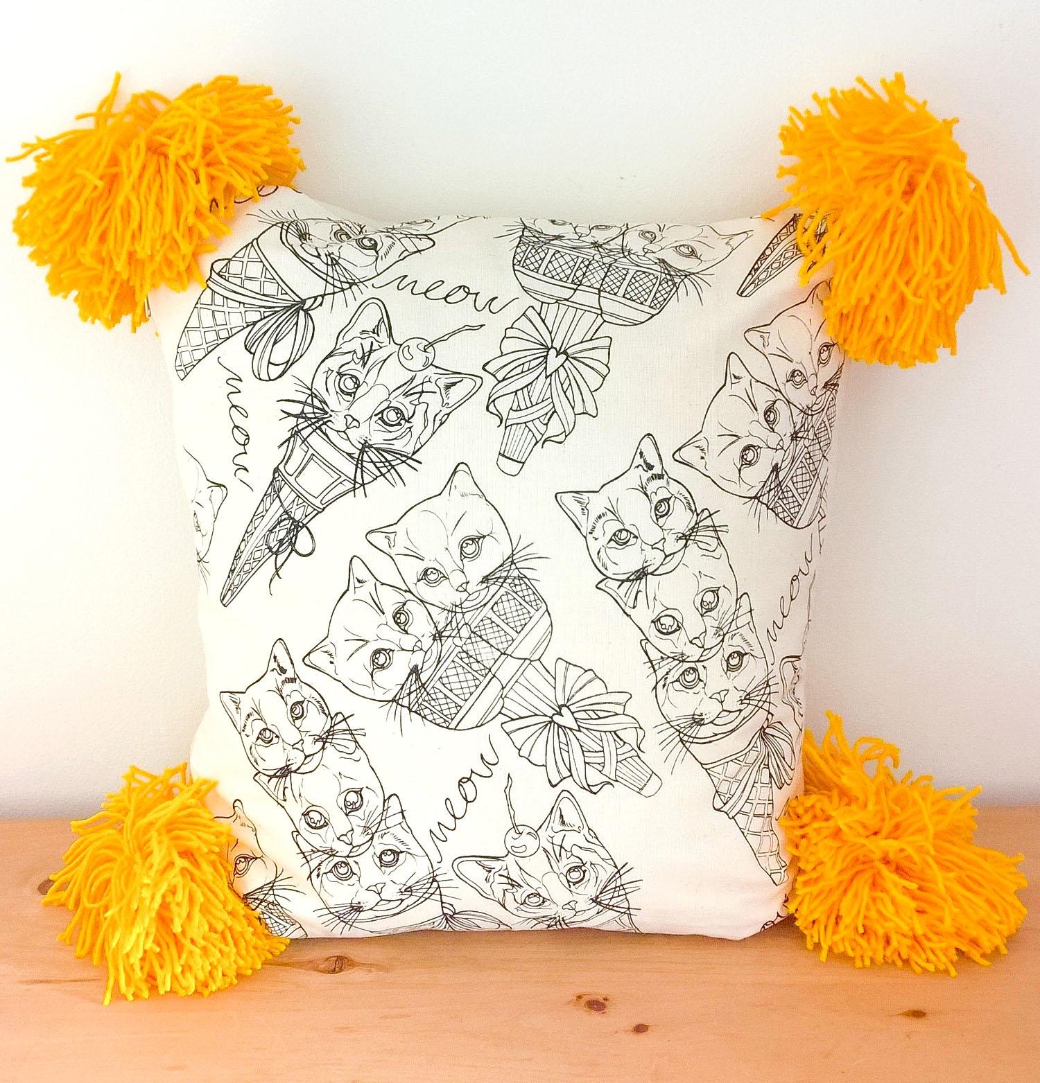 Pom Pom Cat Cushion.jpg