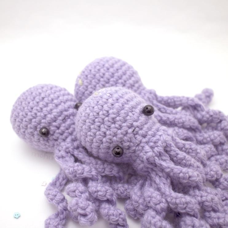 Amigurumi Octopus Mohu : Search Ello