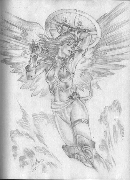 Astaroth ancient Goddess. Canaa - hedvig108 | ello