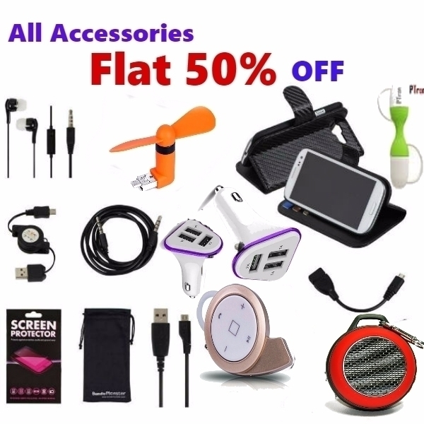 All Accessories 50% OFF