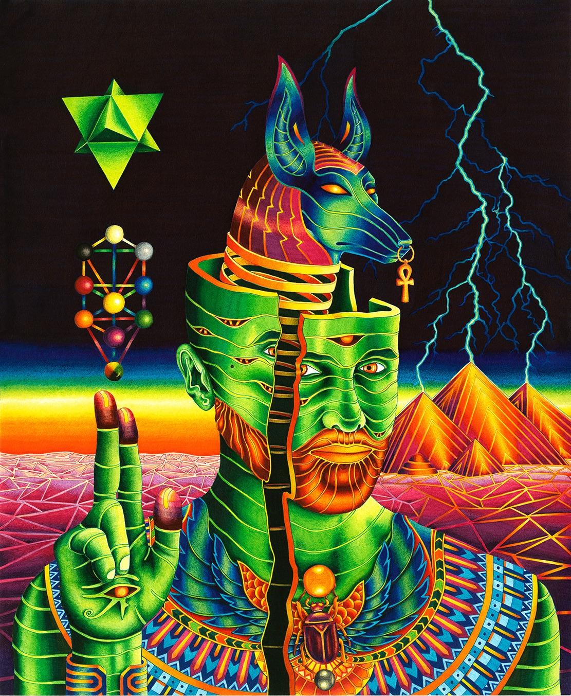 Anubis Rising (Ink paper - 14x1 - vedranmisic   ello