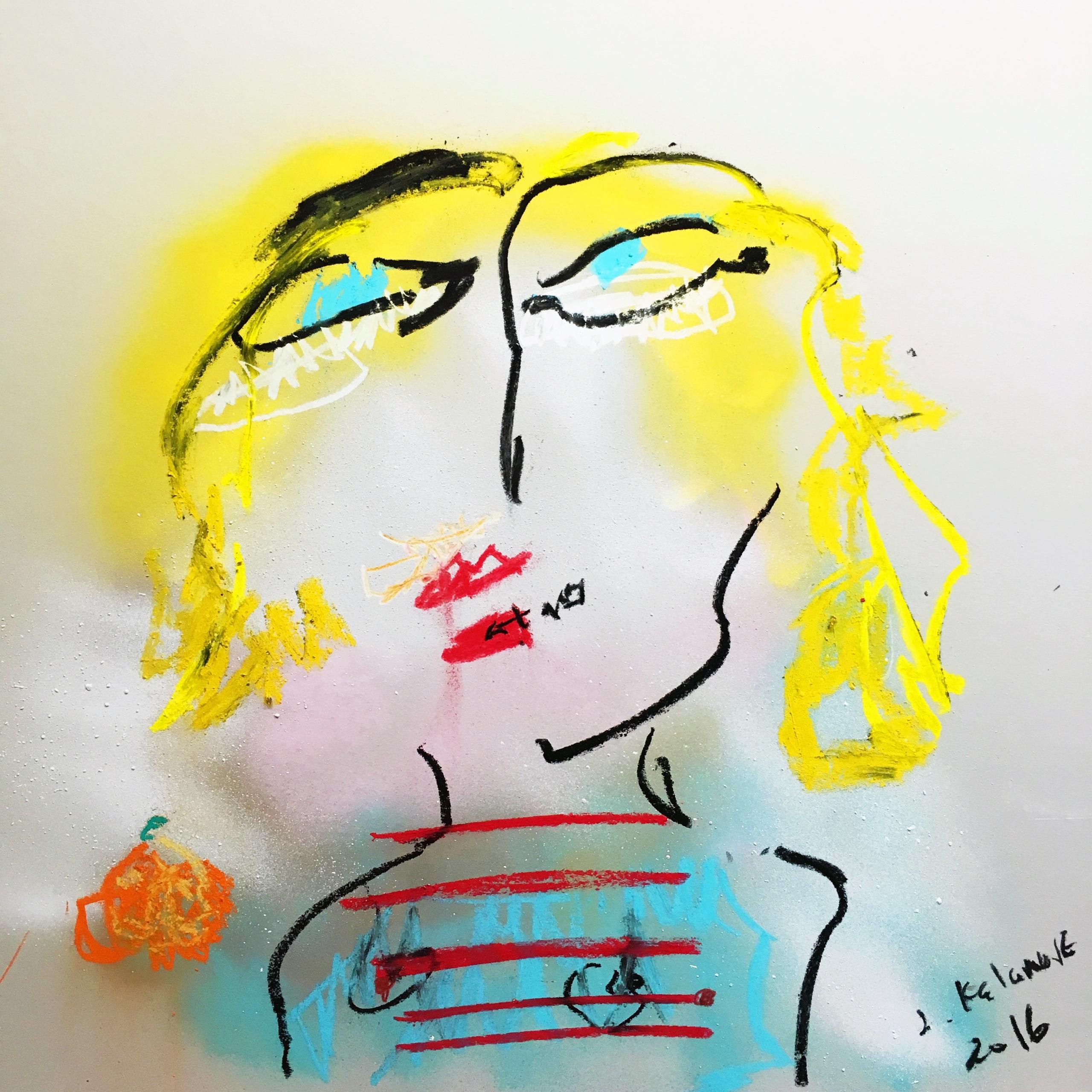 Woman Orange (2016) Stylistical - jkalamarz