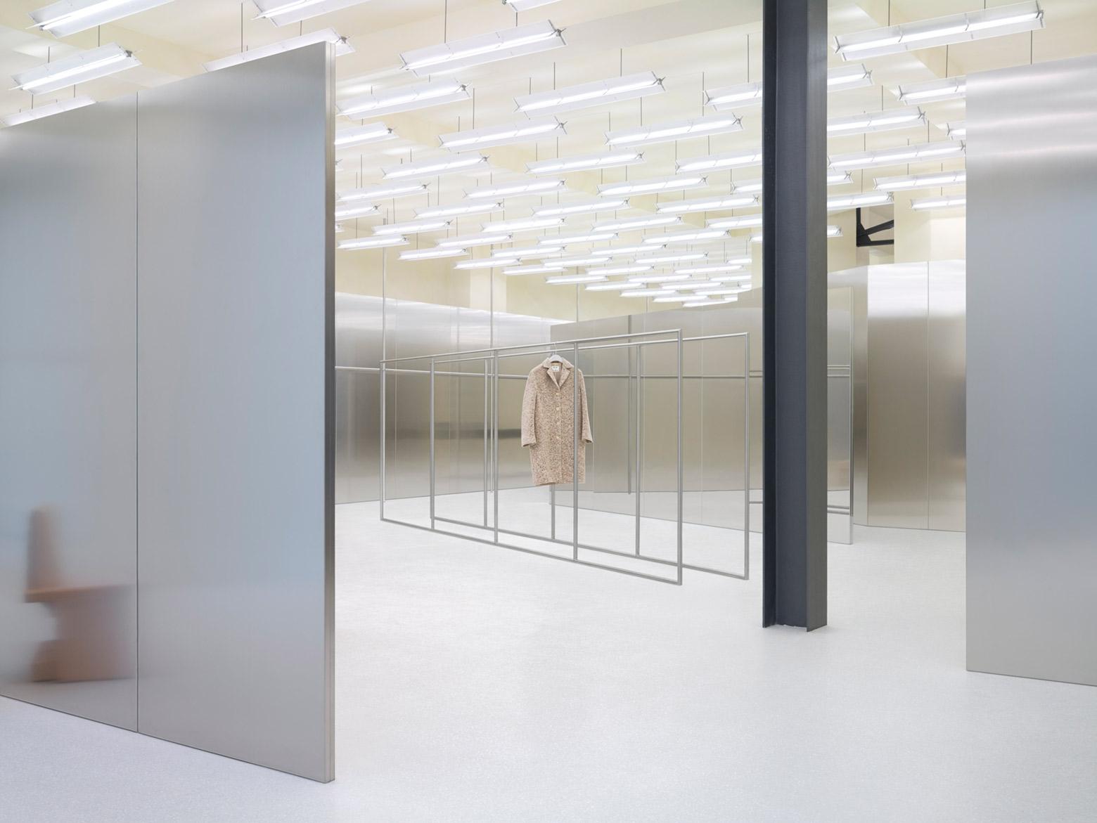 Acne studios potsdamer stra e 8 elloarchitecture ello for Design shop berlin